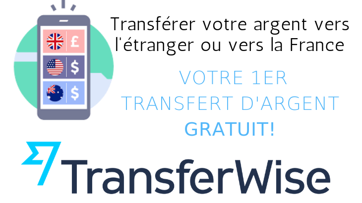 TransferWise - Transfert sans frais