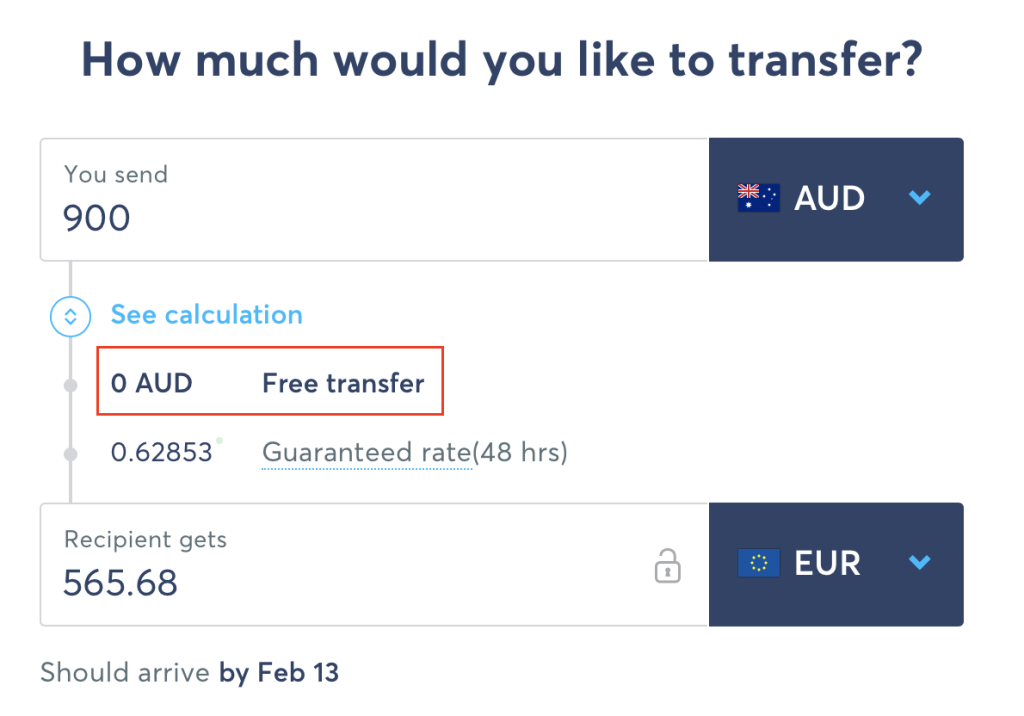 TransferWise Parrainage