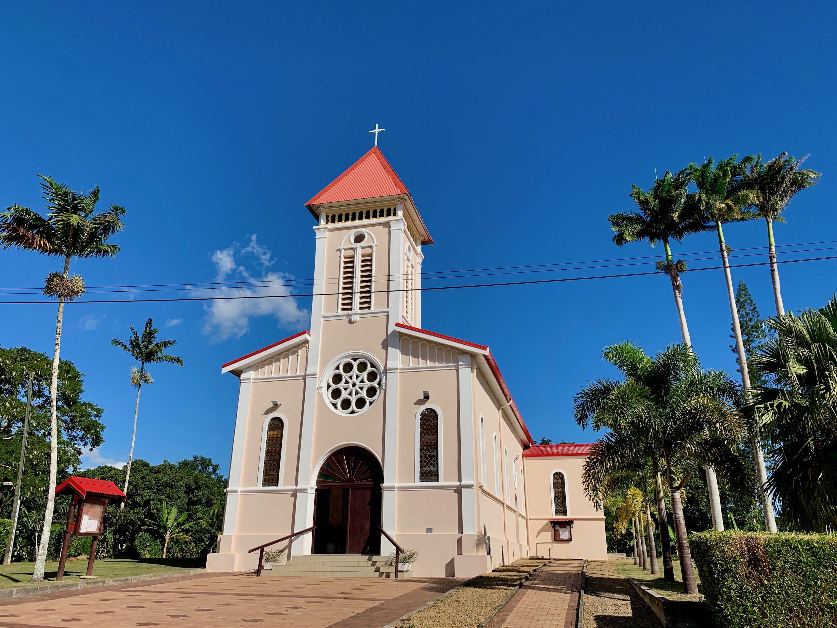 Eglise La Foa Grande Terre Calédonie