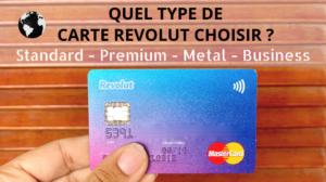 Carte Revolut Comparaison