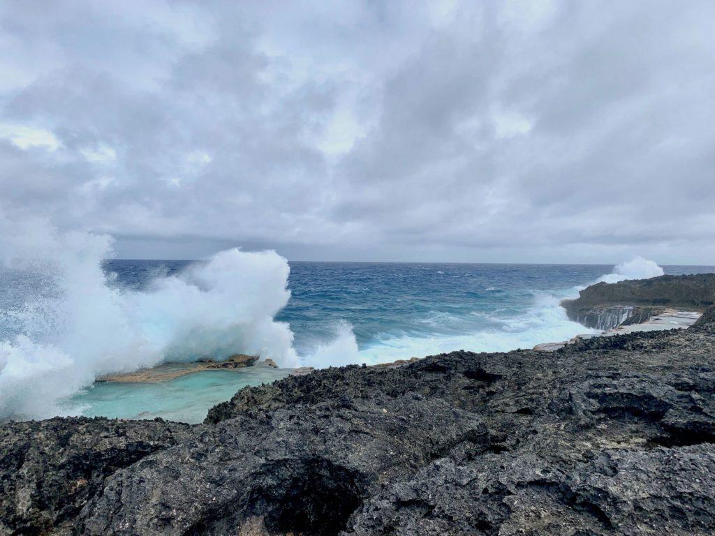 Le Cap des Pins à Lifou