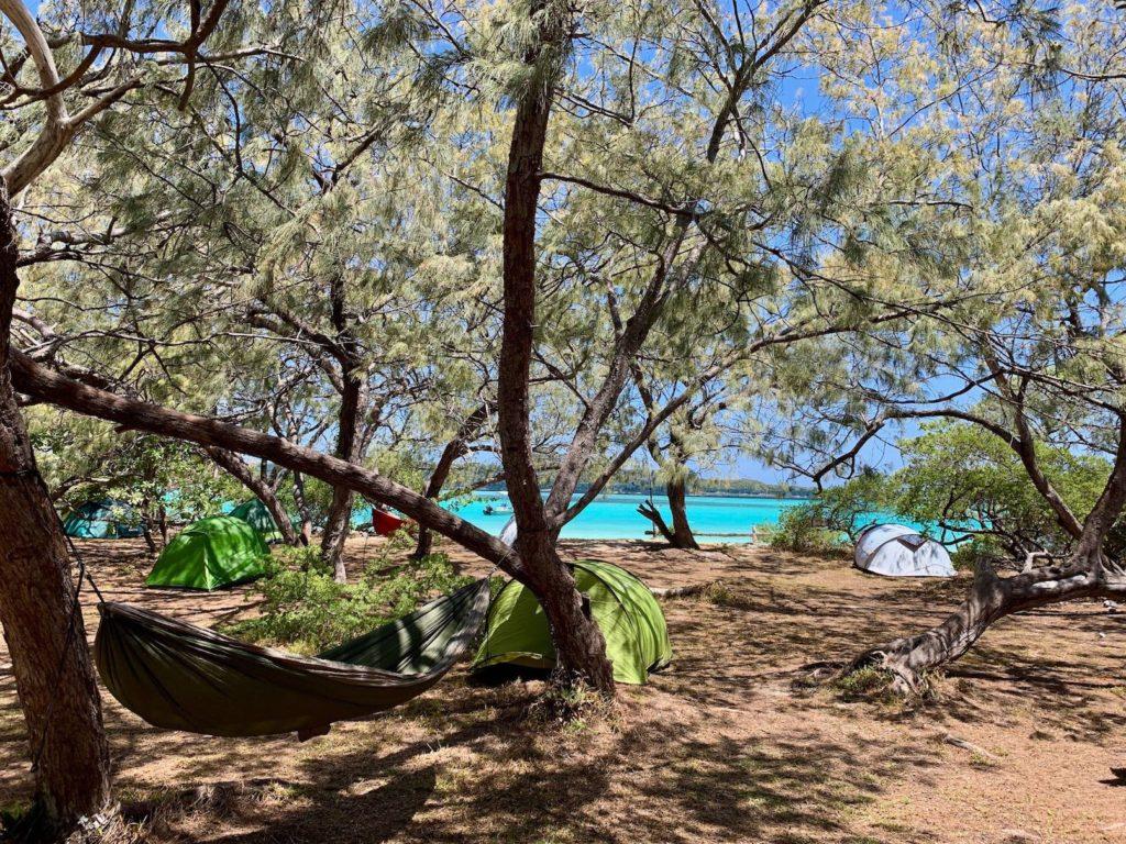 Camping de Lekiny à Ouvea