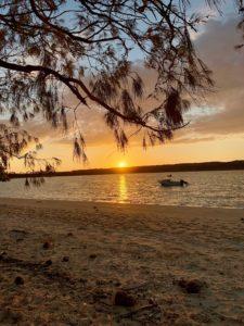 Lever de soleil à Ouvéa