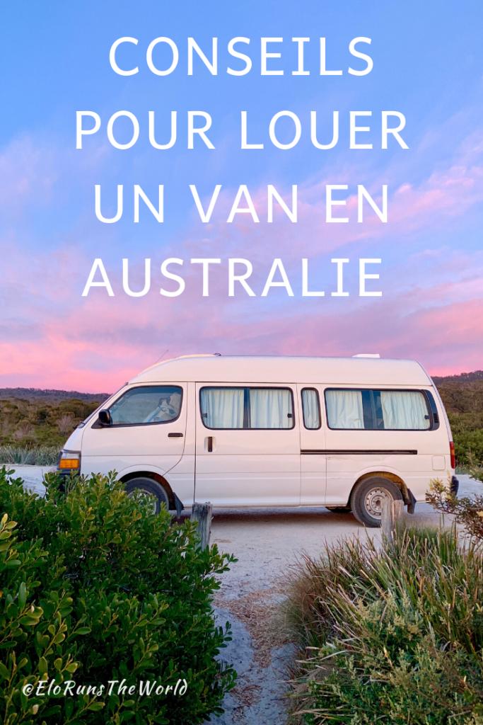 Conseils pour louer un van en Australie