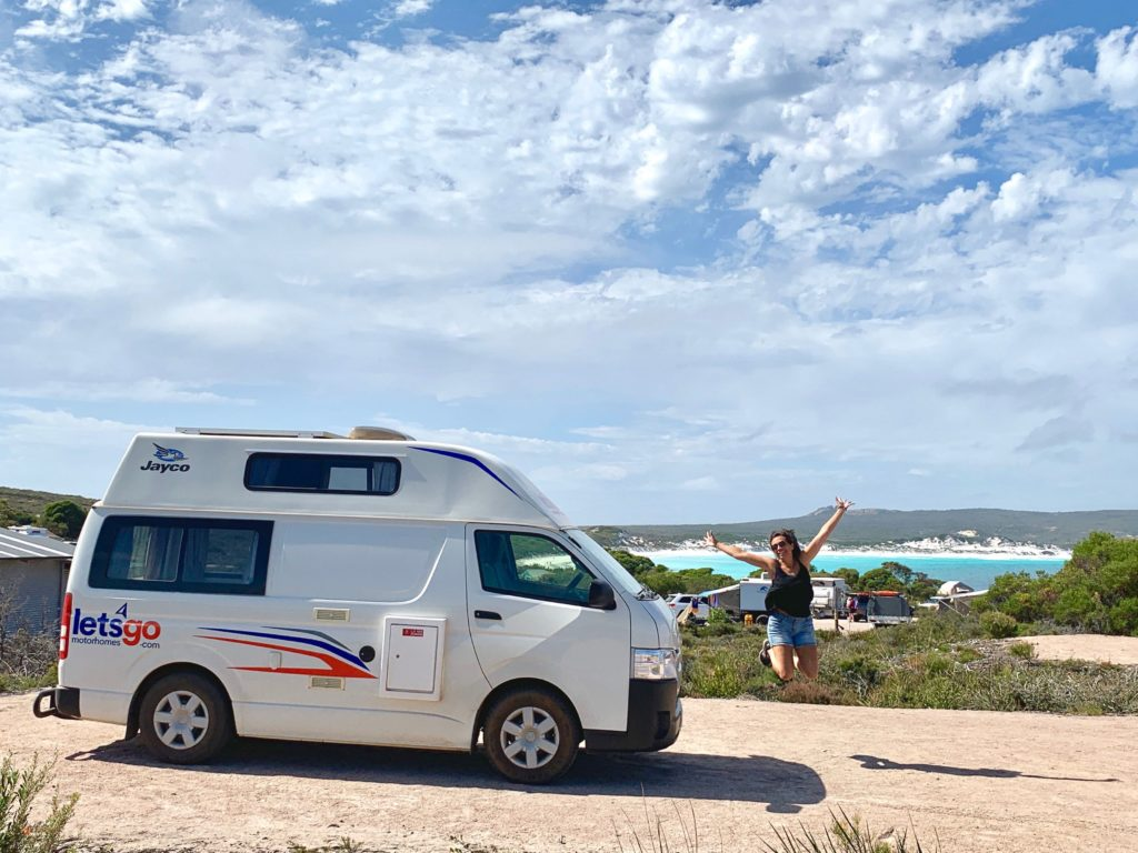 Cape Le Grand NP WA Lucky Bay Camping