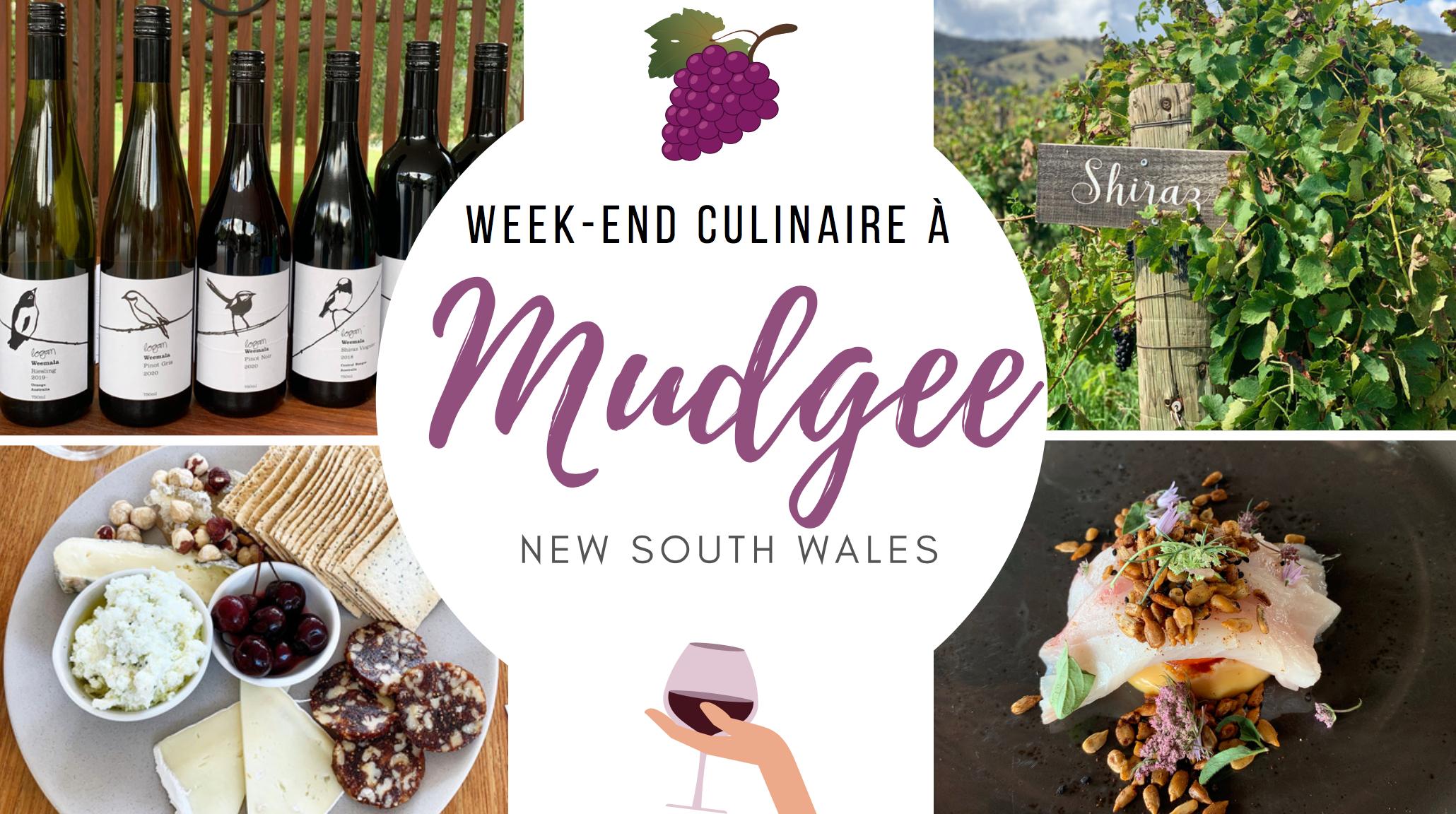 Weekend à Mudgee NSW