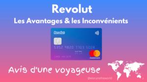 Carte Revolut Avis Voyageur
