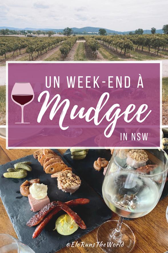Mudgee NSW Vignobles